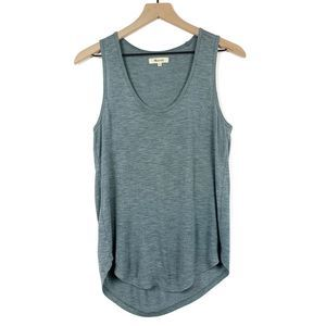 Madewell Whisper Cotton Blue Tank Top Size XS
